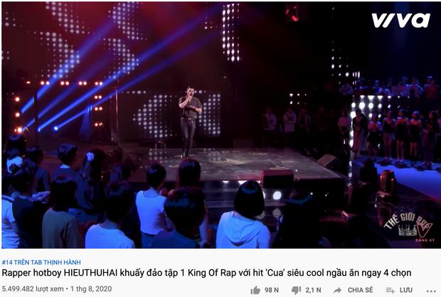 Dàn thí sinh chiếm lĩnh 4 chọn của HLV King Of Rap: Toàn quen mặt giới underground, ấn tượng nhất là HIEUTHUHAI và Pháo - Ảnh 3.