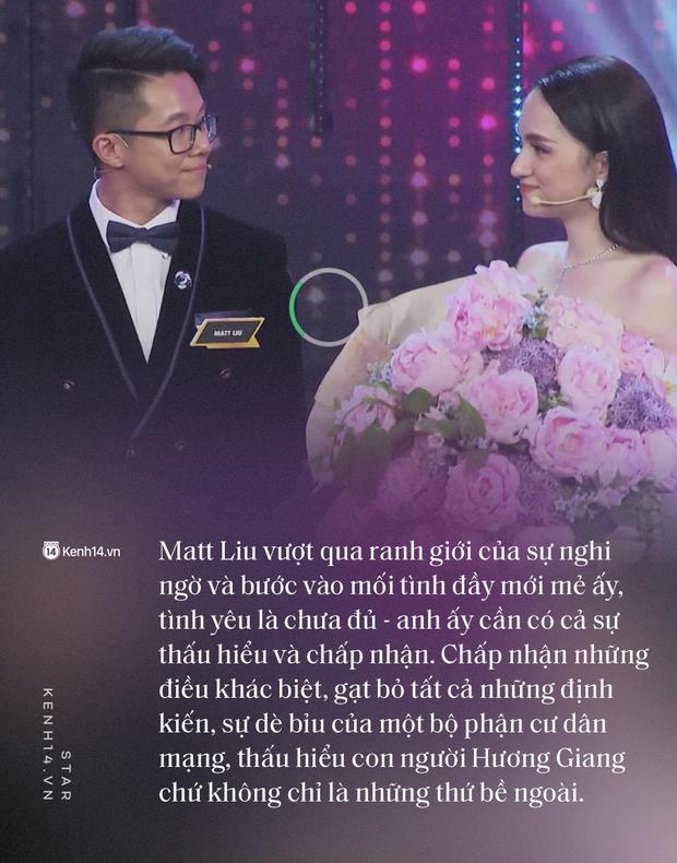 Tình yêu của Hương Giang và Matt Liu khiến tất cả tin rằng: Đến một ngày, ai đó sẽ xuất hiện và yêu ta vì chính bản thân ta - Ảnh 6.