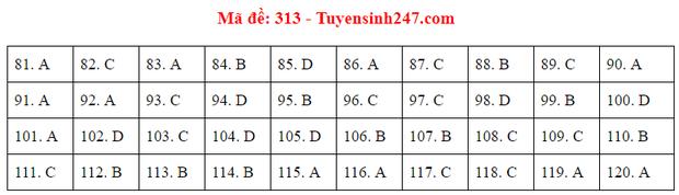 Đáp án đề thi tốt nghiệp THPT 2020 môn GDCD (24 mã đề) - Ảnh 13.