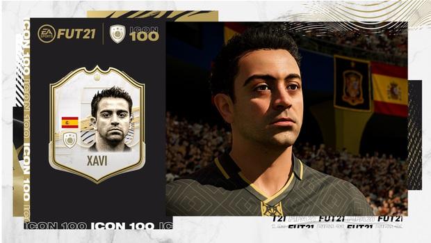 Xavi chính thức có mặt trong FIFA 21 và tương lai sẽ là ICONS mới của FIFA Online 4 - Ảnh 1.