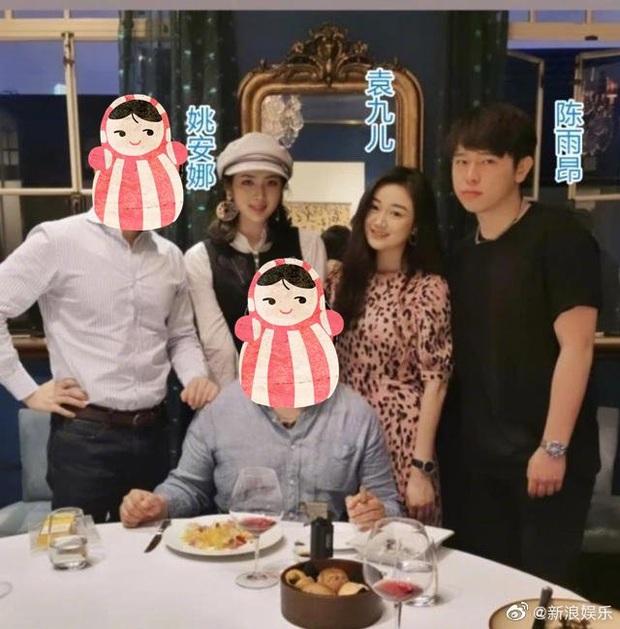 Bữa tiệc khiến cả Cbiz choáng: Gái út trùm sòng bạc tụ tập cùng tiểu thư Huawei, con trai Trần Khải Ca cũng góp mặt - Ảnh 3.