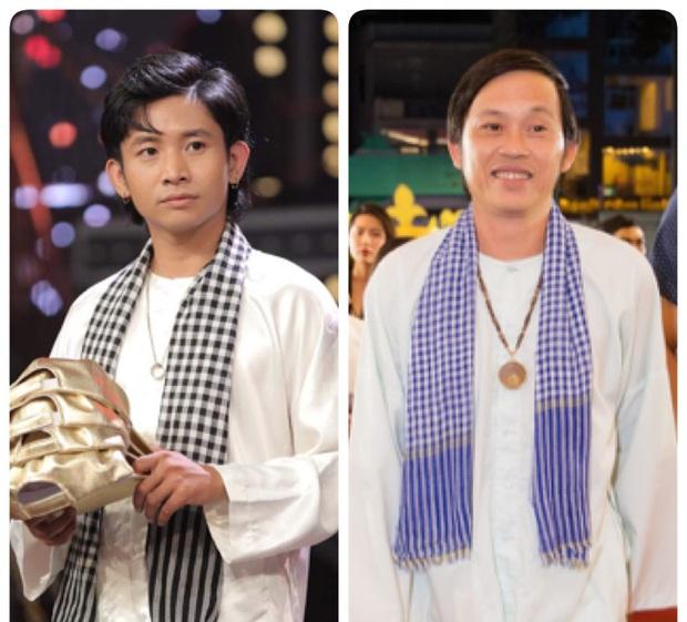 Ricky Star cosplay chú Sáu đi thăm ruộng từ bản gốc của NSƯT Hoài Linh? - Ảnh 3.