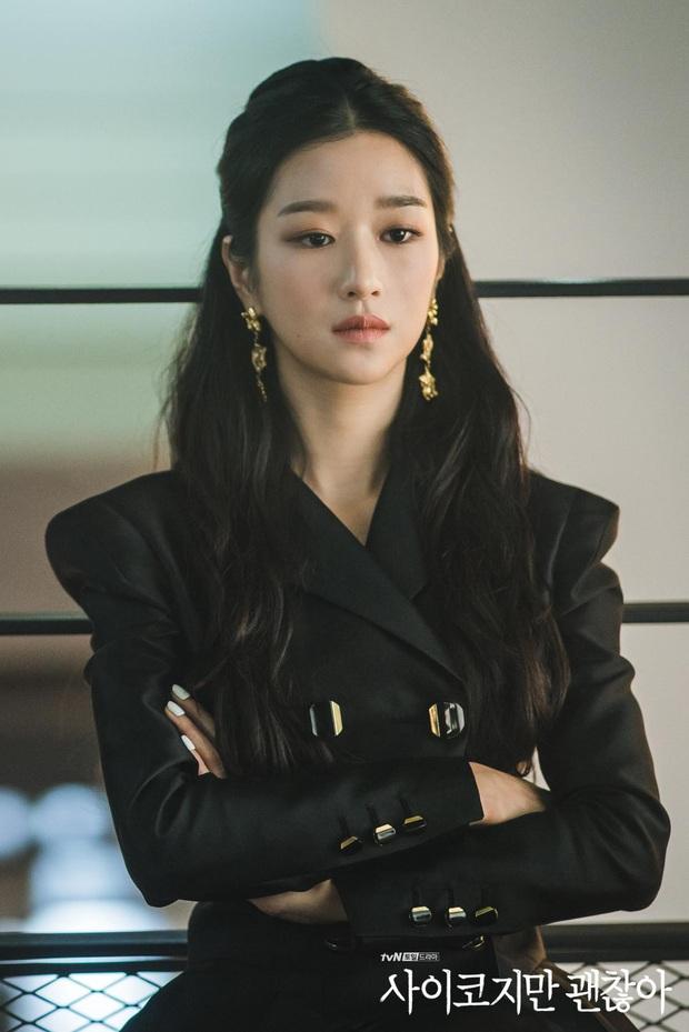 Seo Ye Ji lại đụng độ điên nữ Itaewon khi cùng diện chiếc dây chuyền đang khiến giới mọt phim chao đảo - Ảnh 1.