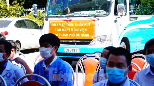 40 bác sĩ, điều dưỡng Huế xuất quân chi viện Đà Nẵng chống dịch COVID-19 - Ảnh 12.