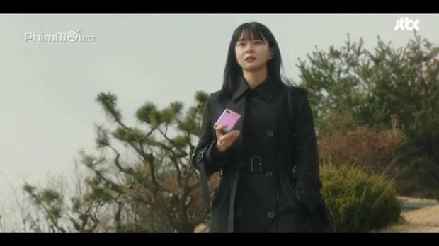 Soi chiếc smartphone lạ mắt, xịn sò của Go Moon Young trong phim Điên thì có sao - Ảnh 4.