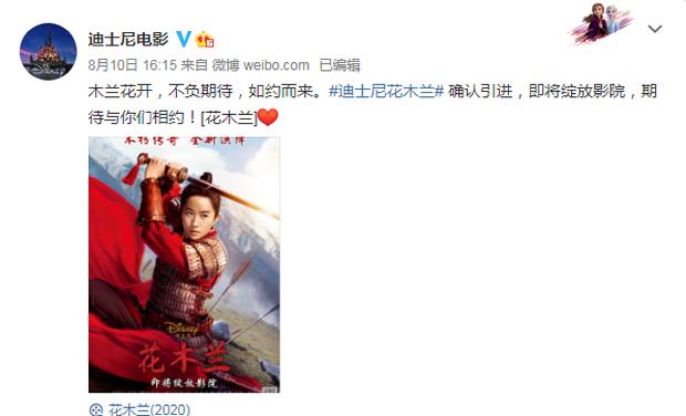 Mulan rục rịch công phá rạp Trung Quốc, mặc cho phần lớn thế giới xem stream - Ảnh 2.