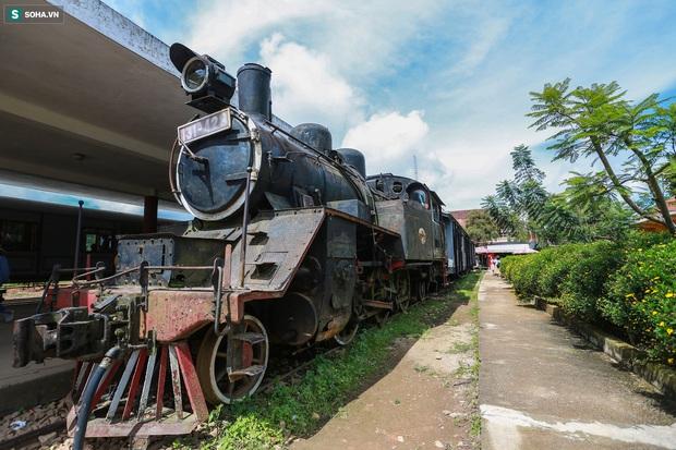 Vẻ đẹp cổ kính của ga tàu hoả gần 100 tuổi ở Đà Lạt nhìn từ trên cao - Ảnh 8.