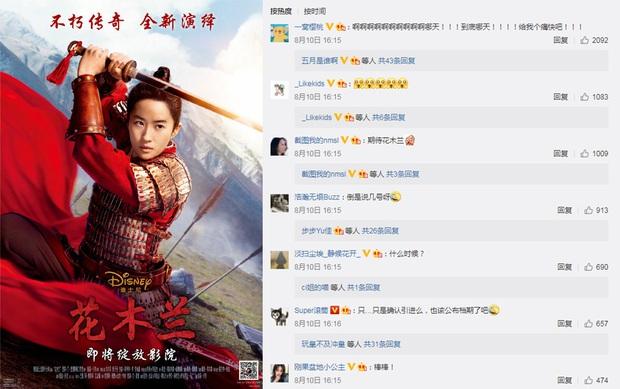 Mulan rục rịch công phá rạp Trung Quốc, mặc cho phần lớn thế giới xem stream - Ảnh 3.