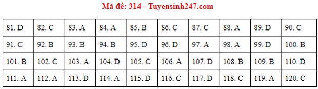 Đáp án đề thi tốt nghiệp THPT 2020 môn GDCD (24 mã đề) - Ảnh 14.