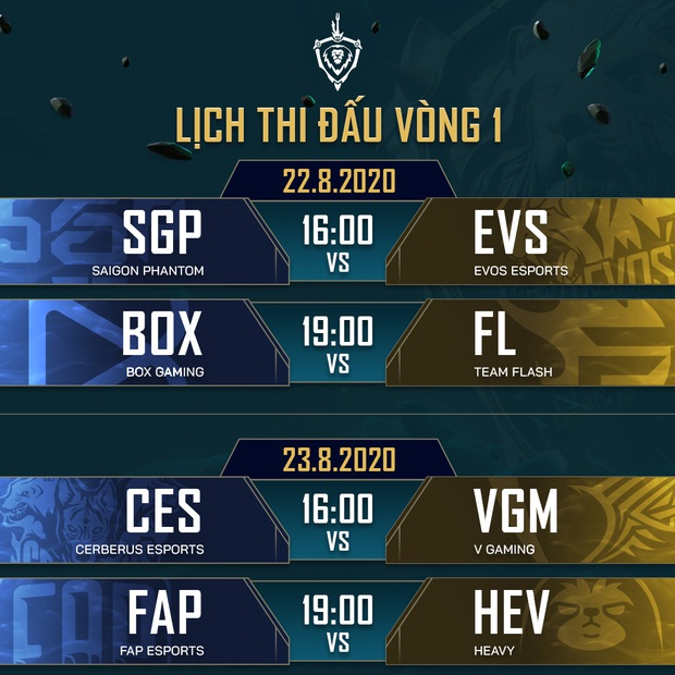 Toàn bộ lịch thi đấu giải Đấu Trường Danh Vọng mùa Đông 2020: Team Flash đụng độ BOX Gaming ngày khai mạc - Ảnh 4.