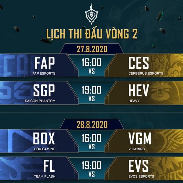 Toàn bộ lịch thi đấu giải Đấu Trường Danh Vọng mùa Đông 2020: Team Flash đụng độ BOX Gaming ngày khai mạc - Ảnh 5.