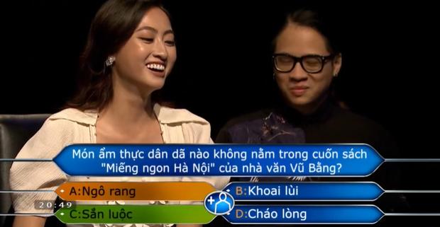 Tin lời bạn, Hoa hậu Lương Thùy Linh mất luôn giải thưởng 30 triệu đồng của Ai Là Triệu Phú - Ảnh 3.