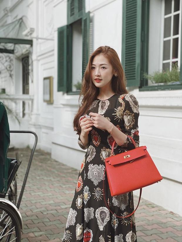 Hé lộ cuộc sống chanh sả của Á hậu Tú Anh sau khi lấy chồng thiếu gia: Hàng hiệu xa xỉ, nhà cao cửa rộng - Ảnh 4.