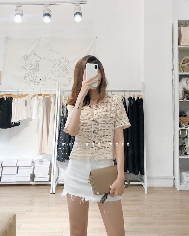 Kiểu áo bạn nên sắm trước tiên thu này chính là cardigan len móc, diện lên xinh chuẩn Hàn Quốc - Ảnh 7.