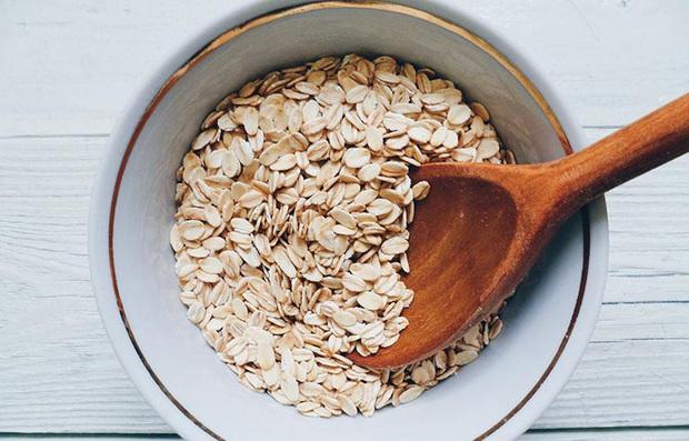 Nhật Lê nấu cháo yến mạch ăn thay cơm, bạn sẽ rất bất ngờ khi biết đây là loại tinh bột tốt có thể giúp no nhanh mà không gây béo - Ảnh 4.
