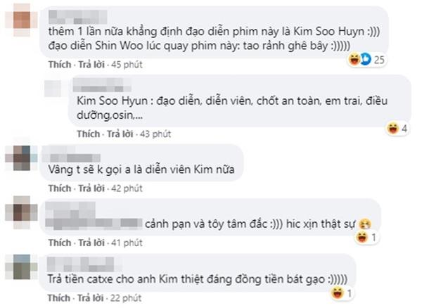Khoảnh khắc Kim Soo Huyn bùng nổ đam mê làm đạo diễn: Cảnh đạp méo cửa để giấu bồ ở Điên Thì Có Sao là anh đây nghĩ ra đó! - Ảnh 6.