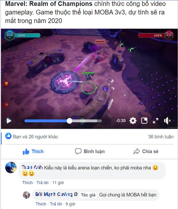 Game thủ Việt lao vào combat tranh cãi về bom tấn mới nhất của Marvel vì không biết là MOBA hay RPG - Ảnh 2.