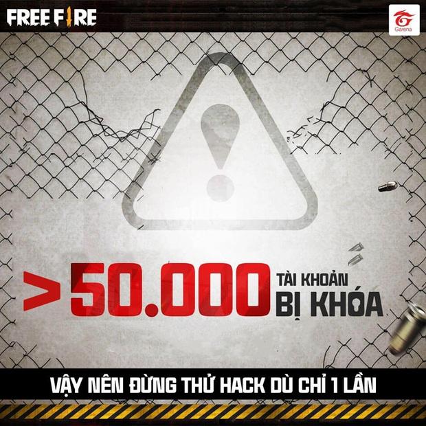 Hơn 50.000 tài khoản Free Fire gian lận bị Garena cho bay màu - Ảnh 1.