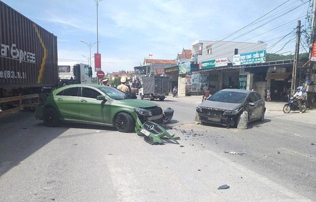 Truy tìm xe ben gây tai nạn liên hoàn với xe Mercedes rồi bỏ chạy trên quốc lộ - Ảnh 2.