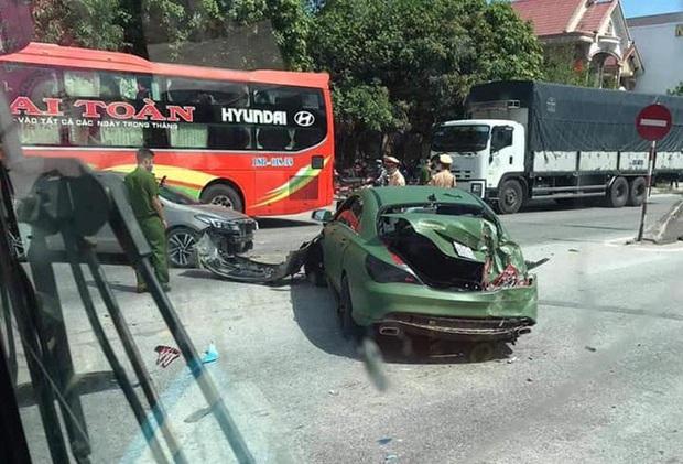Truy tìm xe ben gây tai nạn liên hoàn với xe Mercedes rồi bỏ chạy trên quốc lộ - Ảnh 3.