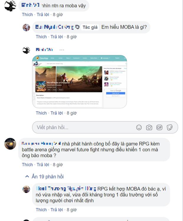 Game thủ Việt lao vào combat tranh cãi về bom tấn mới nhất của Marvel vì không biết là MOBA hay RPG - Ảnh 3.