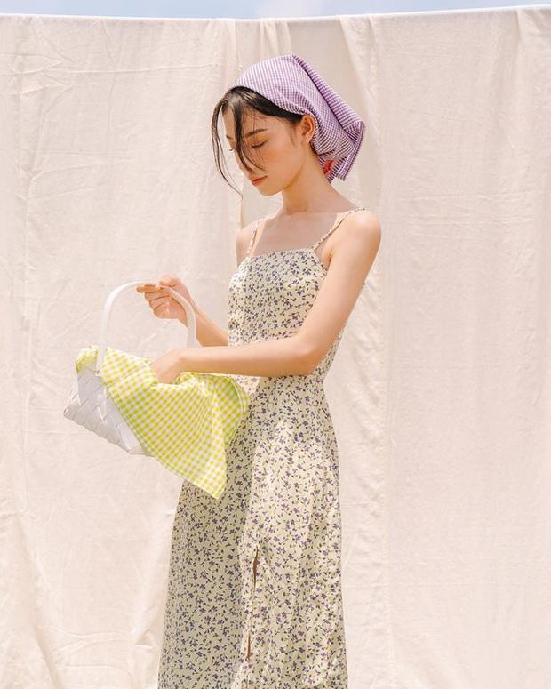 Riêng váy hoa cũng có ít nhất 4 kiểu xinh mê hồn để mặc đẹp từ Hè sang Thu, các nàng dễ gì mà bỏ qua - Ảnh 19.