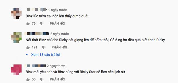 Dân mạng tràn vào phần thi của Ricky Star và đồng lòng nhắc tới Binz, xúc động trước câu nói cùng nhau làm nên lịch sử tại Rap Việt - Ảnh 7.