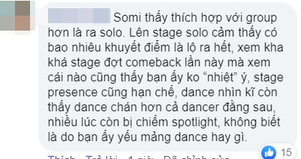 Somi cứ lên sân khấu là trợn mắt, liếc xéo làm cư dân mạng ngán ngẩm, chê bai biểu cảm nghèo nàn dù đã debut solo hơn 1 năm - Ảnh 10.
