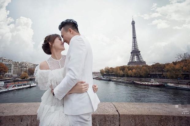 Ông xã Lê Hà khoe ảnh cưới tại Paris bắt trend cực nhanh, nghe nói đúng kiểu ngôn tình chị em đang mê? - Ảnh 4.