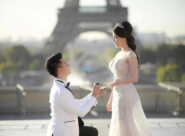 Ông xã Lê Hà khoe ảnh cưới tại Paris bắt trend cực nhanh, nghe nói đúng kiểu ngôn tình chị em đang mê? - Ảnh 6.