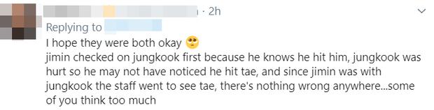 """Jimin bất cẩn 1 giây mà Jungkook và V dính """"liên hoàn cước"""", tưởng chuyện nhỏ nhưng ARMY tranh cãi gay gắt vì cậu út bị ngó lơ? - Ảnh 12."""