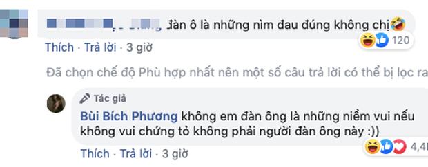 Bích Phương - Quỳnh Thư gây chú ý khi nói về kẻ phụ bạc: Đàn ông là niềm vui, nhưng không vui thì không phải người đàn ông này - Ảnh 3.