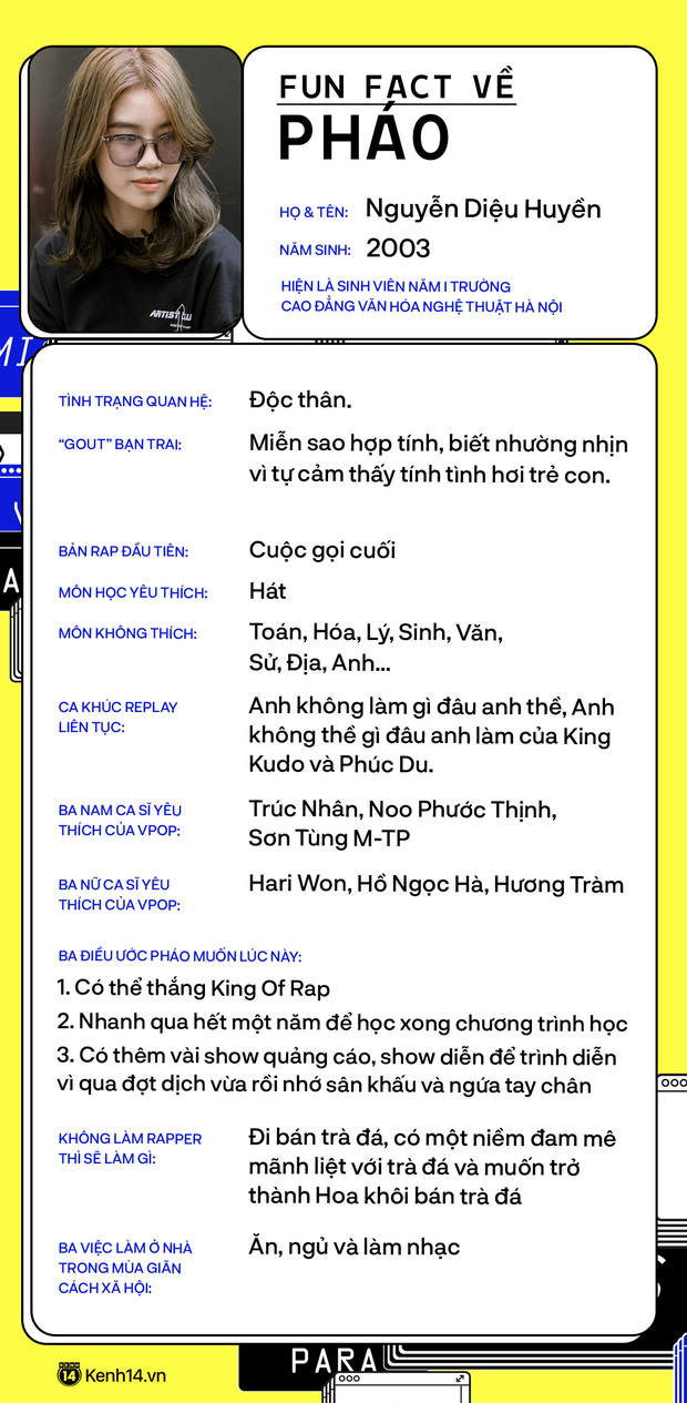 Pháo - rapper 17 tuổi đang gây bão: Thi King Of Rap vì tên ngầu hơn Rap Việt, nếu không theo âm nhạc nhất định sẽ đi bán trà đá! - Ảnh 16.