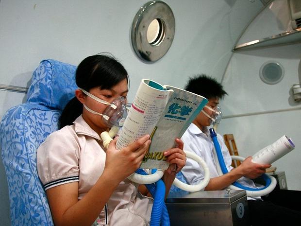Bên trong trường chuyên khắc nghiệt hàng đầu Trung Quốc: Học 15 tiếng/ngày, phải xây rào chắn ngăn học sinh tự tử - Ảnh 1.