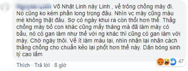 Động viên Âu Hà My, Nhật Linh bị anti-fan nhắc về trông Văn Đức và màn phản pháo cực gắt - Ảnh 2.