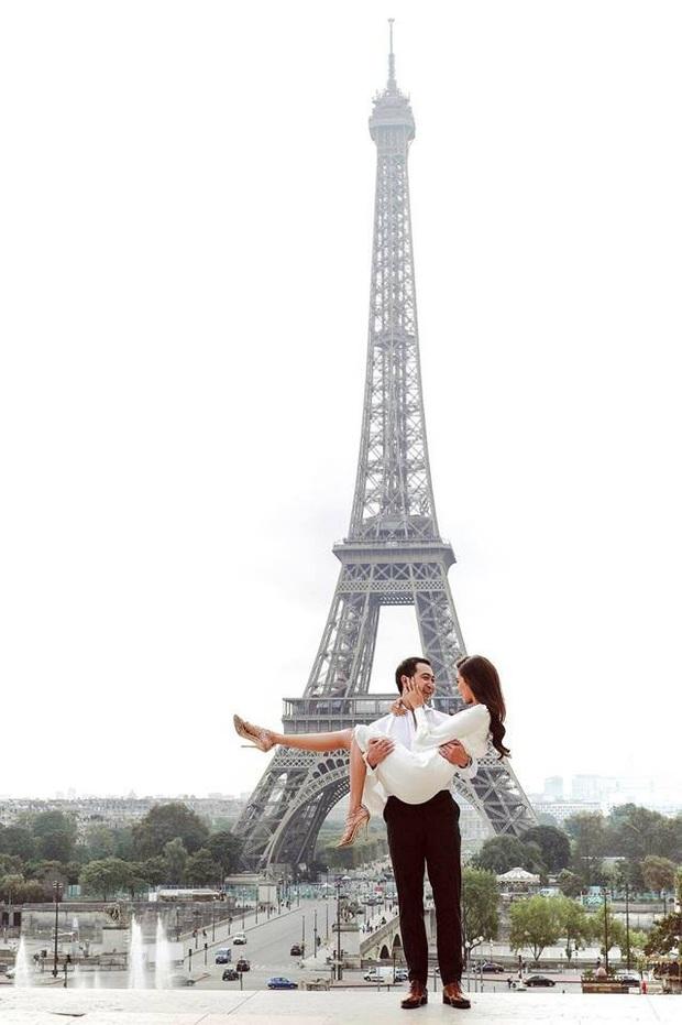 Ông xã Lê Hà khoe ảnh cưới tại Paris bắt trend cực nhanh, nghe nói đúng kiểu ngôn tình chị em đang mê? - Ảnh 5.