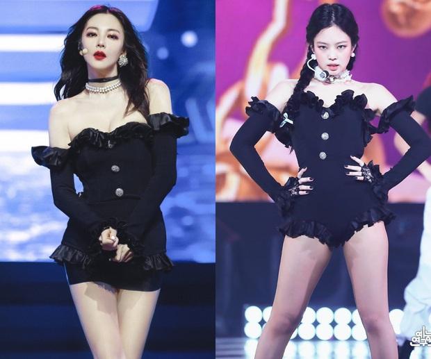 """""""Song Hye Kyo Trung Quốc"""" leo thẳng lên top tìm kiếm Weibo vì body như búp bê Barbie, chặt đẹp cả Jennie - Ảnh 8."""