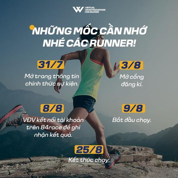 Những điểm mới gây chú ý nhất của Virtual WOW Marathon Hội An 2020 - Ảnh 1.