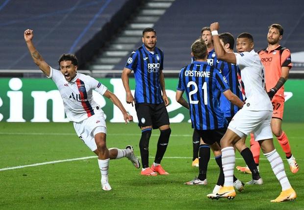 Atalanta 1-2 PSG: Ghi 2 bàn trong phút bù giờ, Neymar và đồng đội lật kèo siêu kịch tính để lọt vào bán kết Champions League - Ảnh 3.