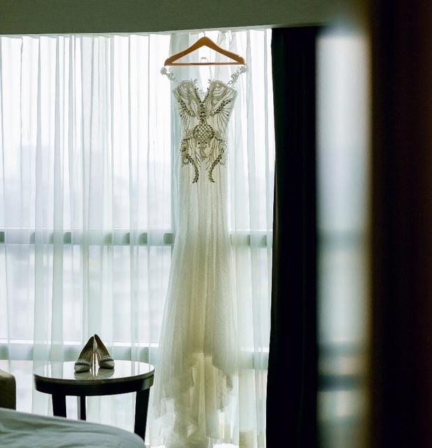 Trước khi bị phụ bạc, Âu Hà My từng hóa công chúa trong đám cưới cổ tích với 3 bộ váy cưới đính kim cương giá 1 tỉ đồng - Ảnh 8.