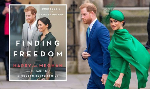 Sách viết về vợ chồng Meghan Markle và mâu thuẫn nội bộ Hoàng gia Anh vừa ra mắt đã bị bắt lỗi đưa trích dẫn sai ngay trang mở đầu - Ảnh 1.