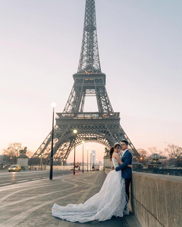 Cư dân mạng rần rần đăng ảnh check-in tại Paris (Pháp), tự nhủ muốn hạnh phúc bền lâu phải chụp ảnh cưới tại đây! - Ảnh 4.