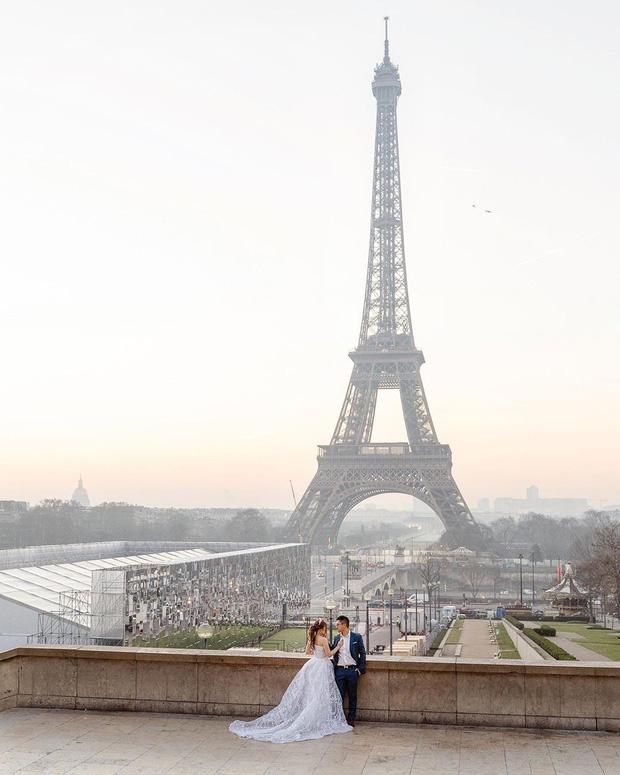 Cư dân mạng rần rần đăng ảnh check-in tại Paris (Pháp), tự nhủ muốn hạnh phúc bền lâu phải chụp ảnh cưới tại đây! - Ảnh 5.