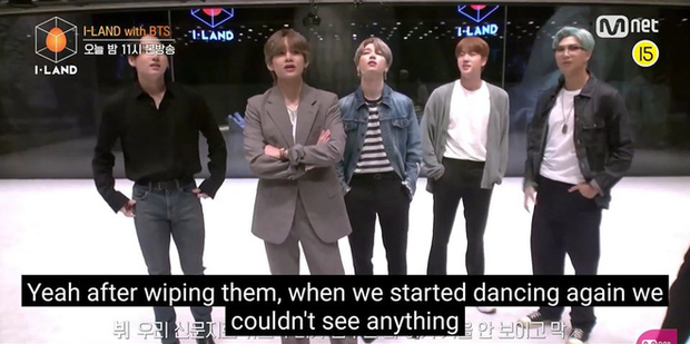 Nhìn phòng tập siêu xịn của thực tập sinh I-LAND, BTS nhớ lại thời còn khó khăn tập trong tầng hầm ẩm thấp khiến fan không khỏi chạnh lòng - Ảnh 4.