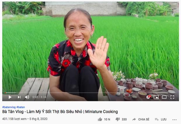 Trong khi bị Bà Lý Vlog bắt chước cách làm clip thì Bà Tân Vlog đã có động thái mới gần nửa tháng nay - Ảnh 4.