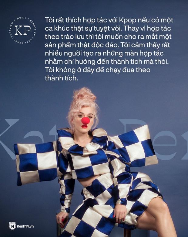 Katy Perry trả lời độc quyền Kenh14.vn: Rất thích BLACKPINK, nhưng sẽ không hợp tác với Kpop chỉ vì chạy theo thành tích! - Ảnh 2.