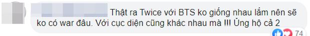 """TWICE tung bản tiếng Anh của MORE & MORE cùng ngày cùng giờ với MV comeback của BTS, tưởng fan """"chiến"""" nhau ai ngờ lại cực """"chill""""? - Ảnh 10."""