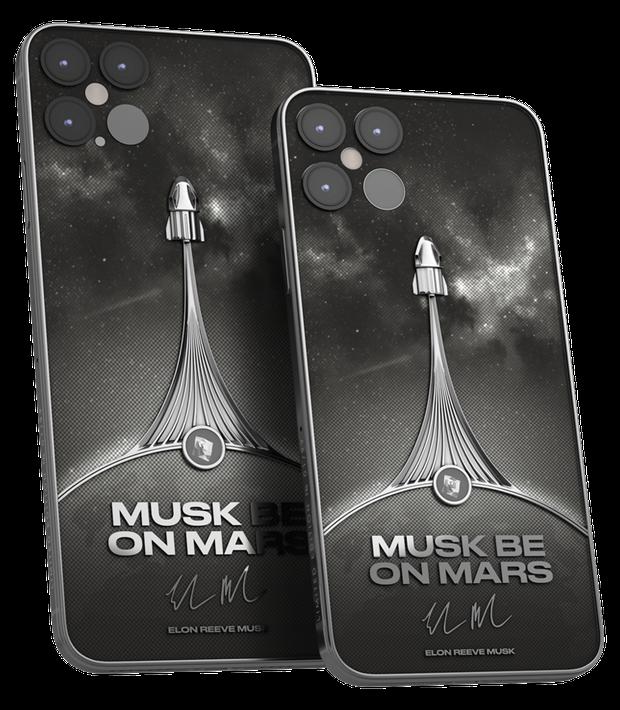 Phiên bản iPhone 12 Pro siêu đẹp dành cho fan của Elon Musk có giá hơn 115 triệu đồng - Ảnh 1.