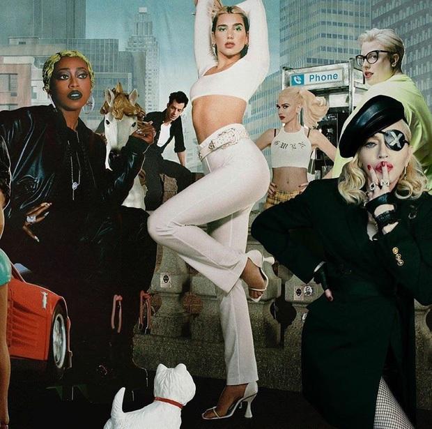 """Dua Lipa hợp tác cùng Madonna và Missy Elliott, tưởng cho ra siêu hit ai ngờ bị dân tình chê """"một mớ hỗn độn như nồi cháo thập cẩm? - Ảnh 13."""