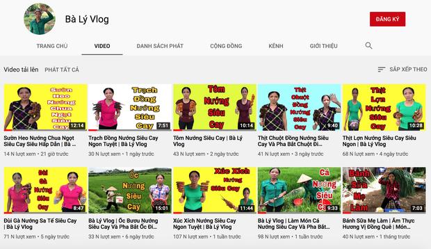Bà Lý Vlog bị ném đá liên tục: cộng đồng mạng chê bà thì ít mà mắng con cháu thì nhiều vì mang phụ huynh ra làm trò cười - Ảnh 1.